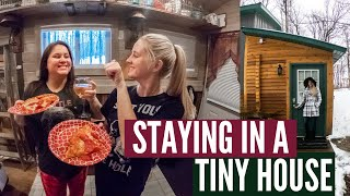 Spending The Night In A Tiny House! // Freeport, Mi // Airbnb Stay 2020