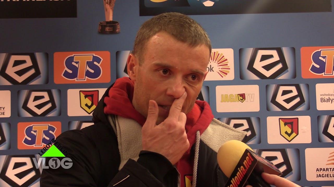 Rafał Grzyb po meczu z Pogonią (1-0)
