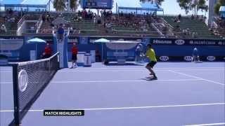 Australian Open: Australian Open Qualifying Day 4 - Kudla v Kuznetsov Highlights
