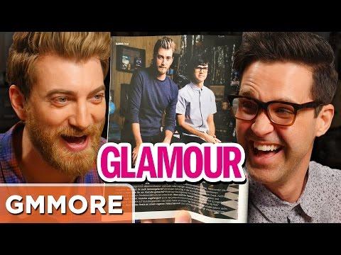 Rhett & Link Glamour Magazine Translation