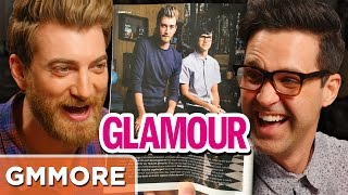 Rhett & Link Glamour Magazine Translation