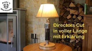 Directors Cut | Industrial Design - Stoßdämpferlampe - Designer Lampe - diy