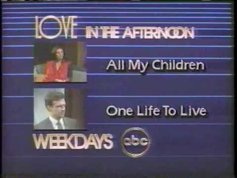 November 1984 ABC Love In The Afternoon