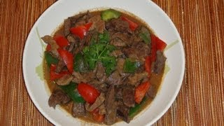 Pinoy Recipe - Simple And Delicious Stew Dish Ever - Igado [stew Pork With Liver]