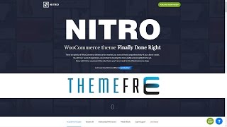 NITRO Universal WooCommerce Theme from E-Commerce Experts for Fashion, Furniture, Store, Design