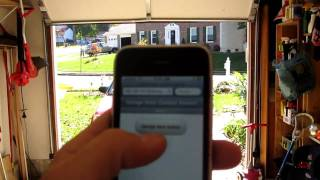 iphone controlled garage door opener using arduino