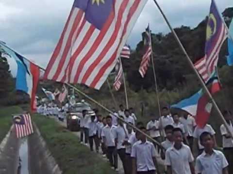 Perarakan Kemerdekaan Asrama SEMETRA 2012
