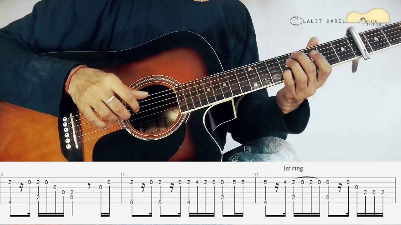 Guitar Chords Jeena Jeena