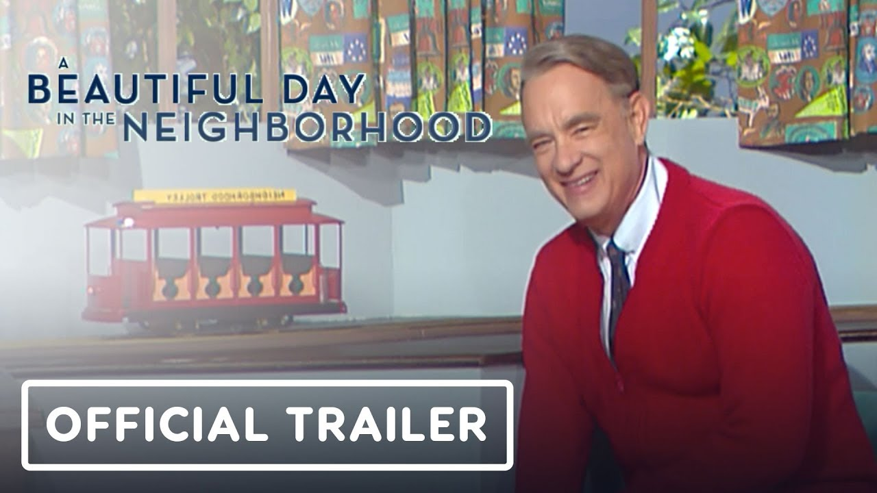 A Beautiful Day In The Neighborhood Mister Rogers Movie Official Trailer Tom Hanks Youtube