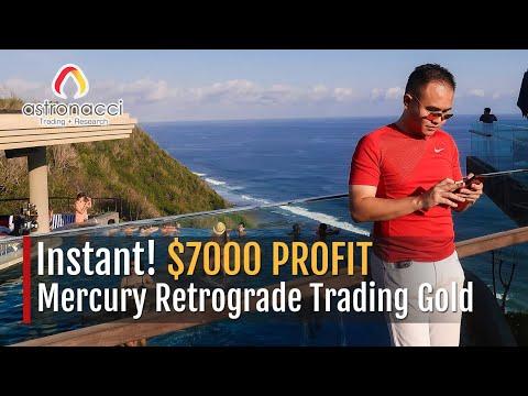 Instant! $7,000 PROFIT Mercury Retrograde Trading Gold