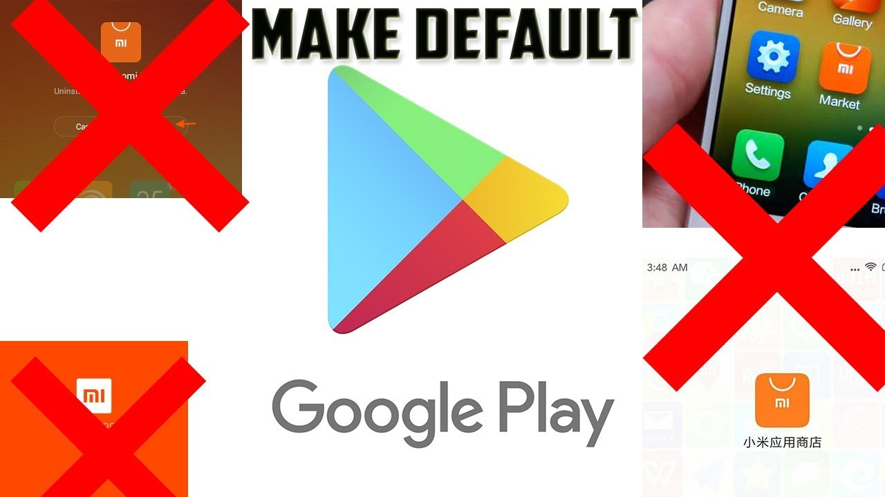 How to make Google play store default App Store in MIUI China Dev Rom