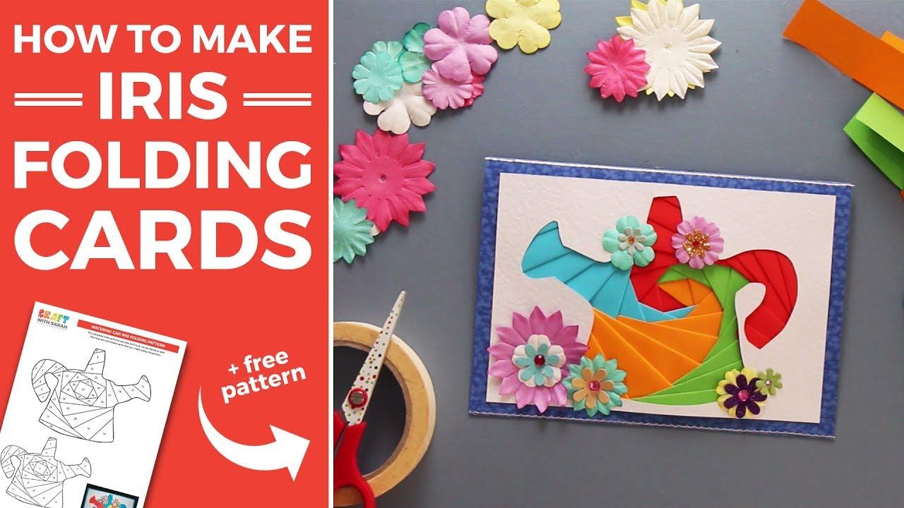 Easy Iris Folding Instructions Free Patterns
