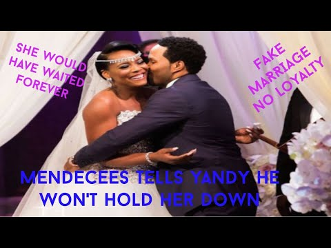 Yandy Knew Exactly Who Mendecee Was, When A Person Shows You Who They Are Believe Them