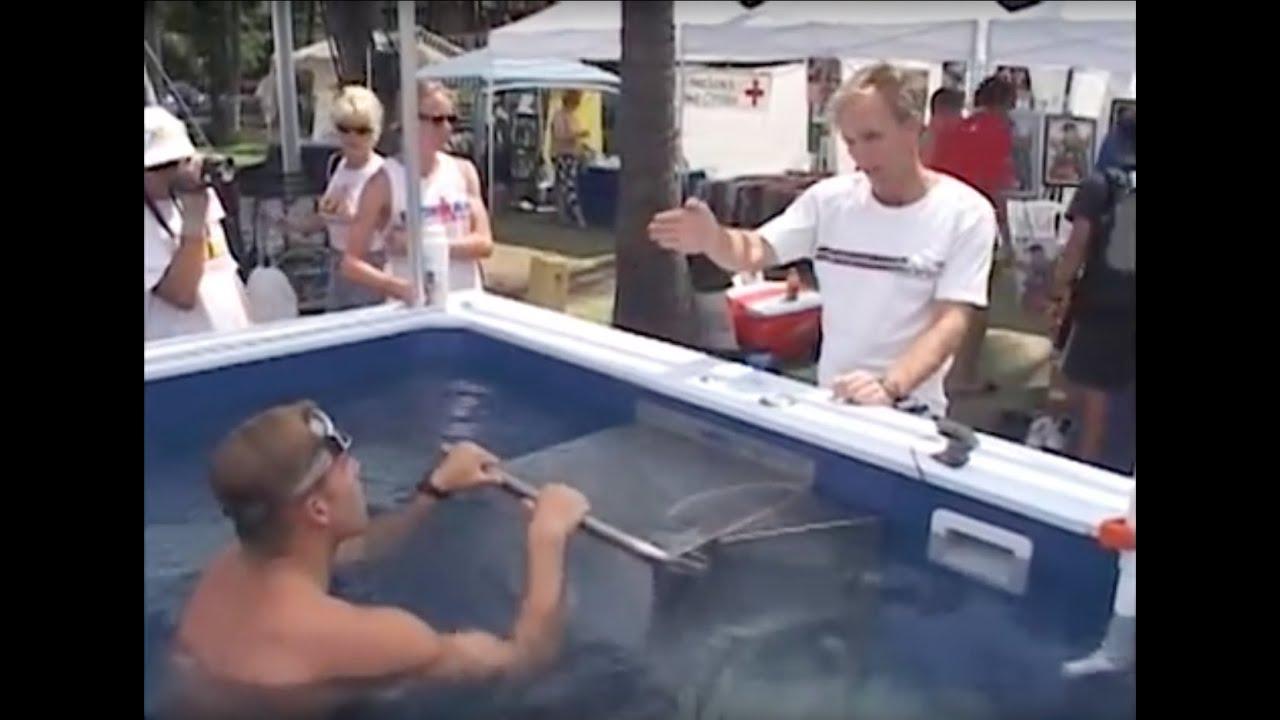 Triathlon Swim Training with Endless Pools®