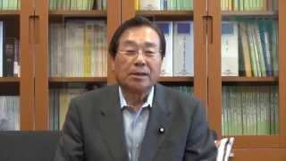 参議院議員 加賀谷健様からの応援メッセージ
