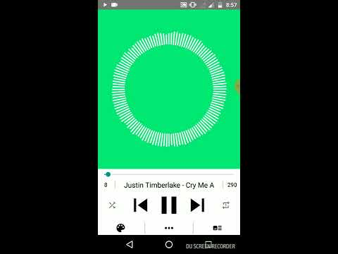 Best music player android | Visualizer music player | Change colors