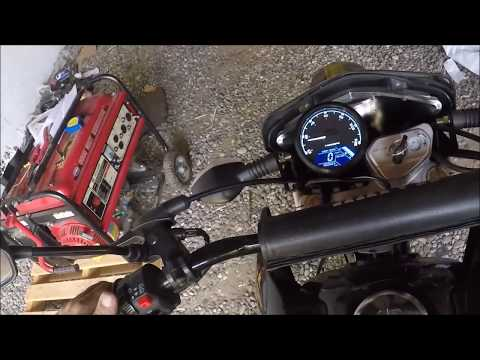 RPS Hawk 250 changing things up / #6 Digital gauge with Tachometer