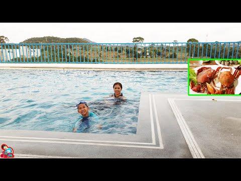 น้องบีม | เที่ยวชลบุรี เล่นน้ำสระว่ายน้ำ โรงแรม Costa Village Bangsaray