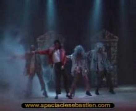 Michael Jackson video n°2 - www.spectaclesebastien.com