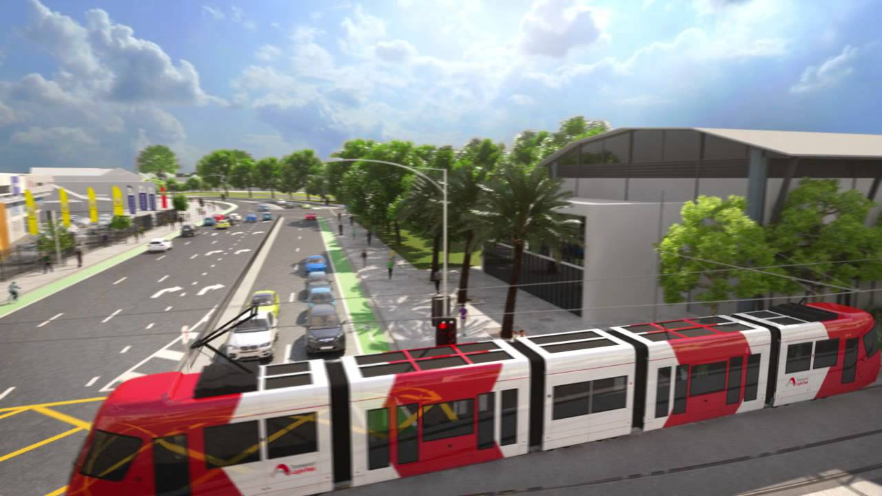 Newcastle's $510m light rail project taking shape