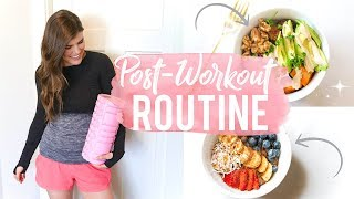 My After Workout Routine! Healthy Dinner Idea + Tips!