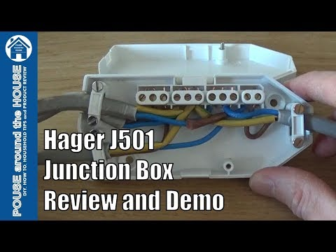 hqdefault hager j501 downlighter junction box (ashley) review and demo how hager j501 wiring diagram at gsmportal.co