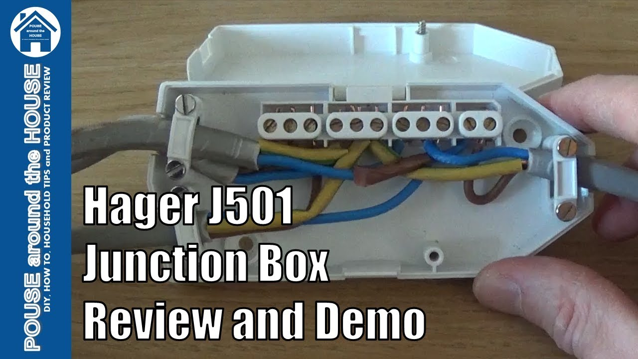 hight resolution of hager j501 downlighter junction box ashley review and demo how to wire a downlight junction box