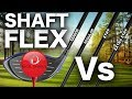 DRIVER SHAFT FLEX - THE COMPARISON TEST!