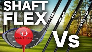 DRIVER SHAFT FLEX - THE COMPARISON TEST!