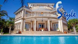 Элитная недвижимость в Испании. Эксклюзивная vip вилла класса люкс с видом на море. E-Style ref 977(В продаже элитная недвижимость на побережье Коста Бланка. Вилла с видом на море в престижном районе на..., 2015-02-11T10:47:45.000Z)