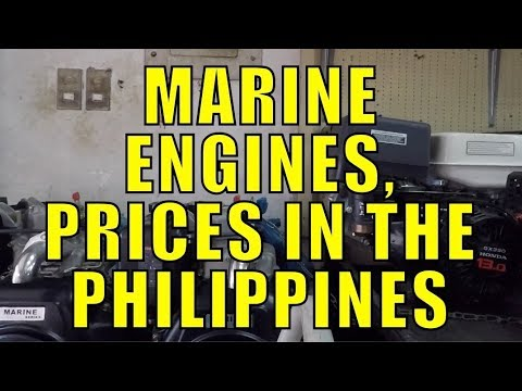 Marine Engines, Prices In The Philippines.