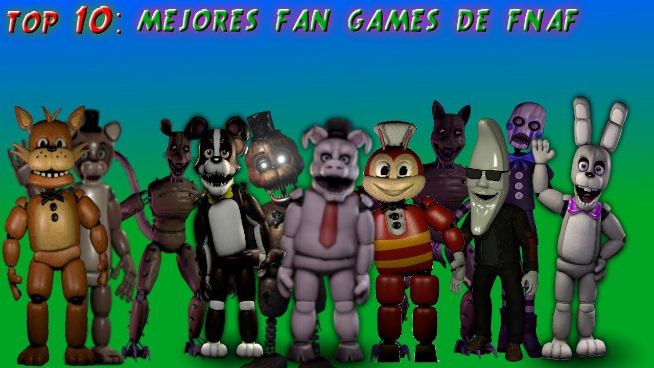 Top 10: Mejores fan games de fnaf