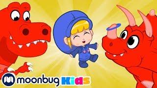 Морфл и Динозавры   Детские мультики   Morphle   Морфл   Moonbug Kids