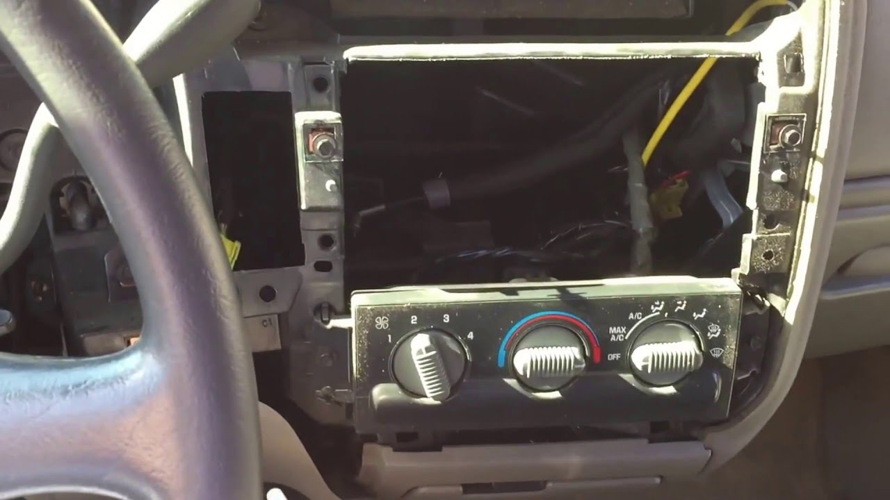 S10 Double Din Conversion Part 2 Watch Part 3 Youtube