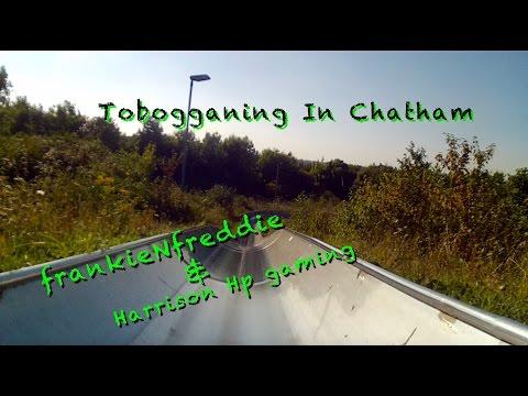 TOBOGGAN RUN!!! (Ride & Slide Ski Slope In Chatham Kent)