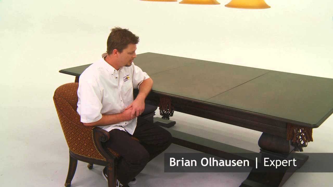 Letu0027s Ask Brian | Pool Table Dinning Table | Olhausen