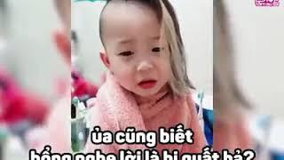 Bé Trai Trả lời cực dễ thương khi bị mẹ mắng [HotFacebook]