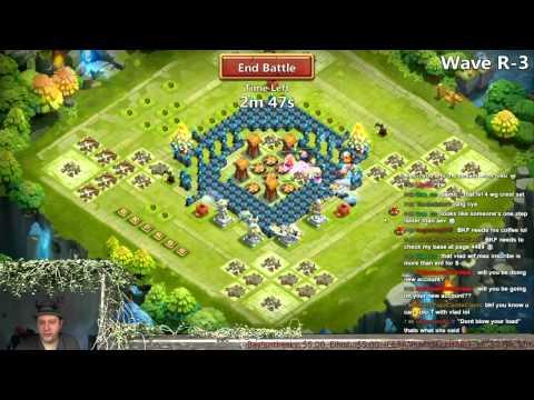 Castle Clash - Farming HBM R 4 & 6 Man Skull Knight Base Setup