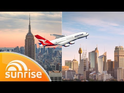 Kochie's Non-stop Flight From New York To Sydney | Sunrise