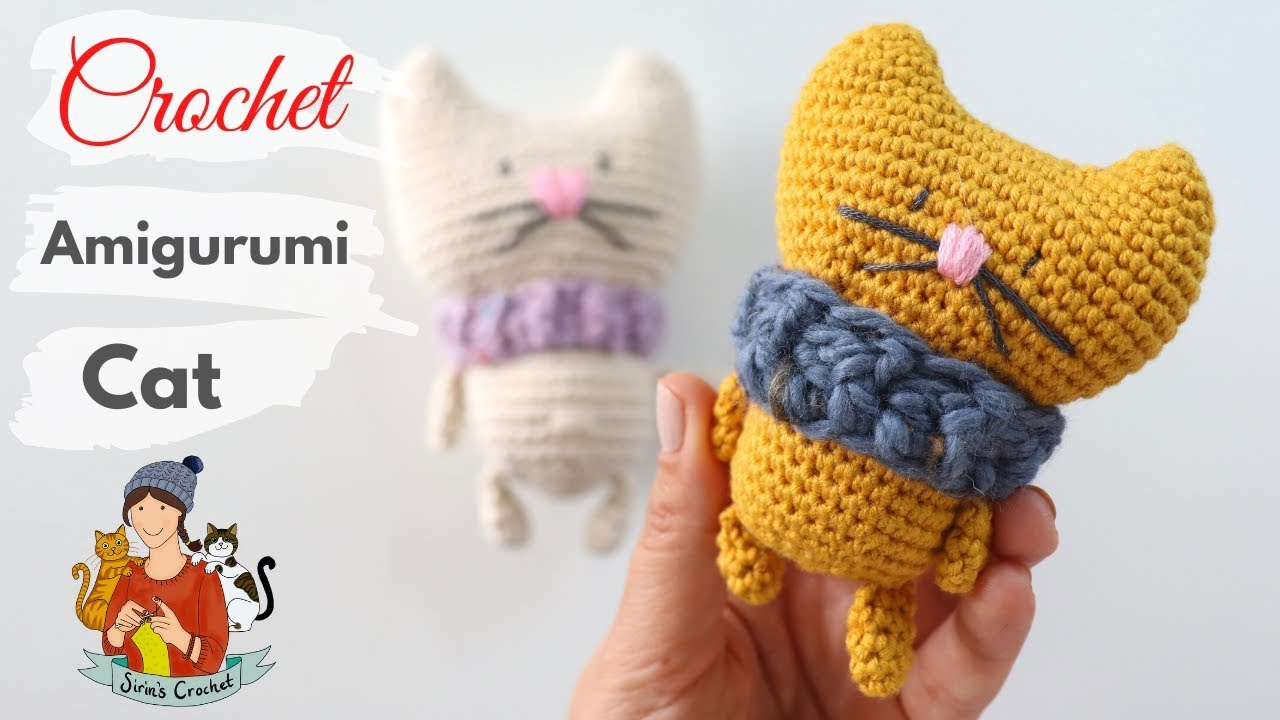 Cat Doll in Dress Free Crochet Patterns | 720x1280