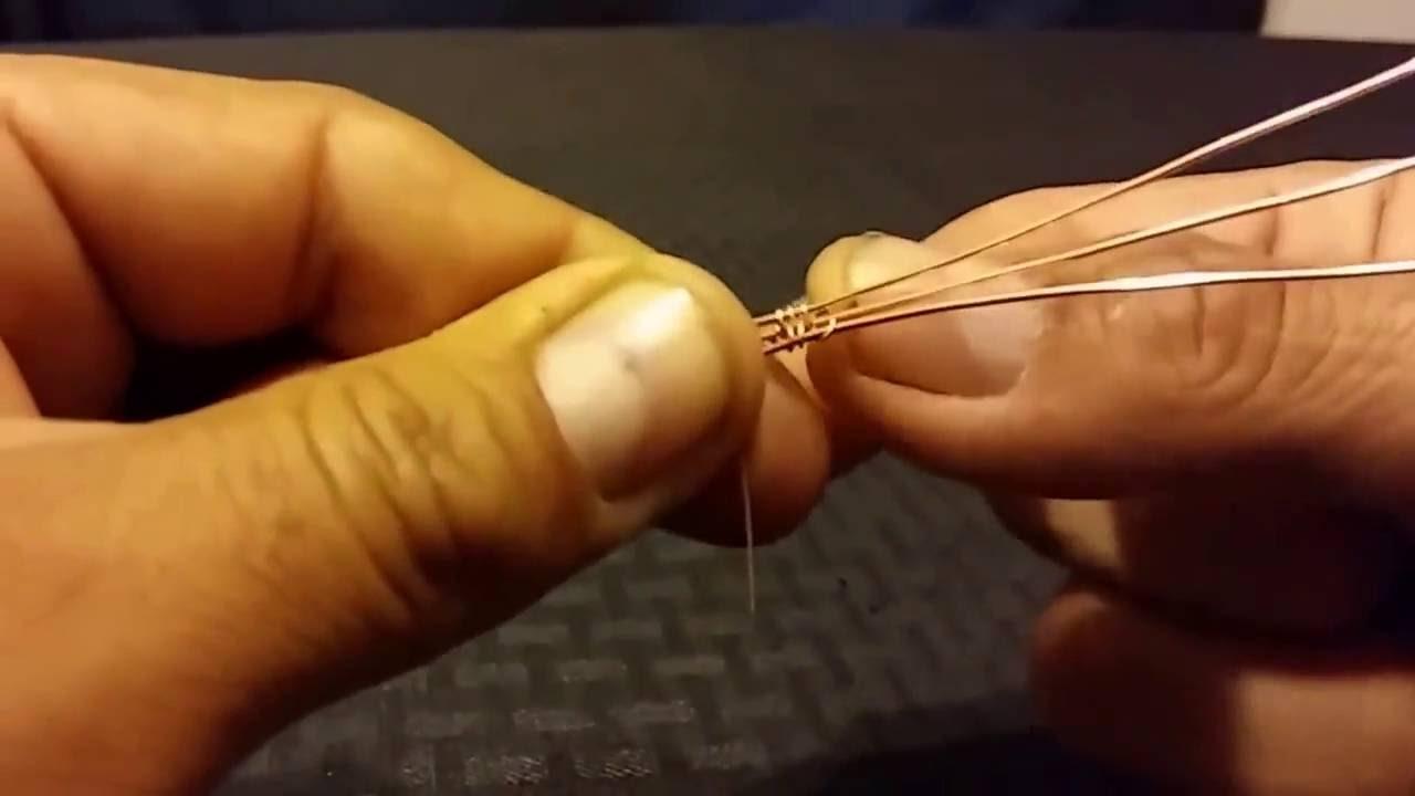 3d1df7521aac tejido de alambre para joyeria tecnica - YouTube
