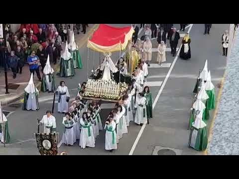Procesión de la Virgen de la Esperanza, en Burela
