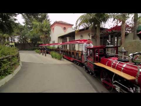 CP Huntington Train By Chance Rides Since 1961