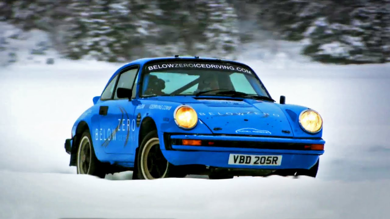 racing porsche 911 39 s on ice fifth gear youtube. Black Bedroom Furniture Sets. Home Design Ideas