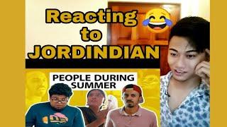 Jordindian   Things people  do during summer   Reaction by N.S REN