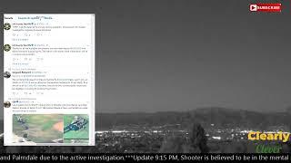 Active Shooter at Lancaster, CA Sheriff Station, Police Scanner