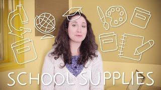 Italian Weekly Words with Ilaria - School Supplies