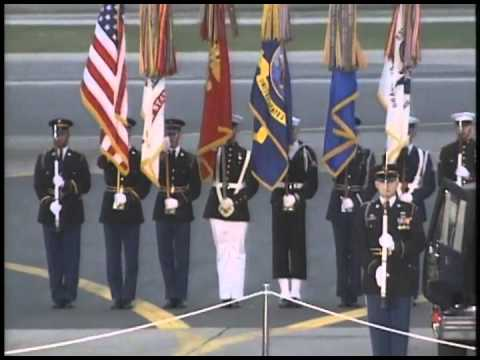 Ceremony Honoring Those Who Died in an Aircraft Tragedy in Croatia at Dover AFB