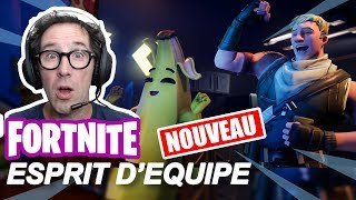 [LIVE FORTNITE] - NEW TEAM TEAM TEST COMBAT PAST WEEK 7 SAISON 10! - cetalex