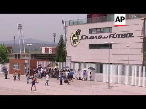 Head of Spanish football federation arrested